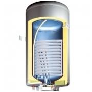 Kombinuotas 150 litrų vandens šildytuvas GBK 150 LN (kairės pusės)