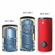 Pastatomas 300 litrų vandens šildytuvas KGV 300-1
