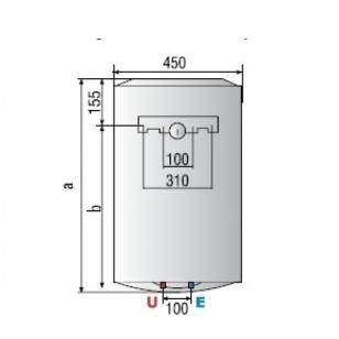 Vandens šildytuvas Ariston PRO R EVO 80 V