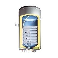 Kombinuotas 100 litrų vandens šildytuvas GBK 100 LN (kairės pusės)